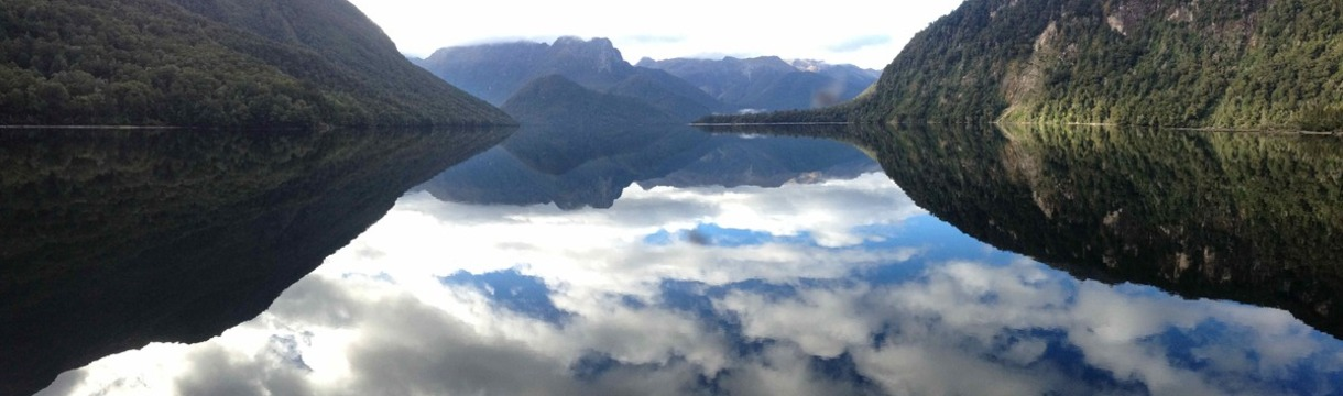 Lake Te Anau reflections